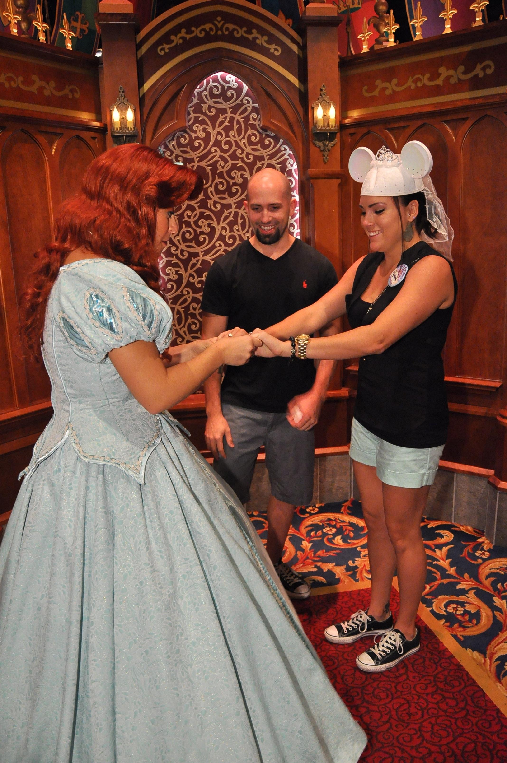 Image 8 of Elizabeth and Tommy's Disneyland Proposal