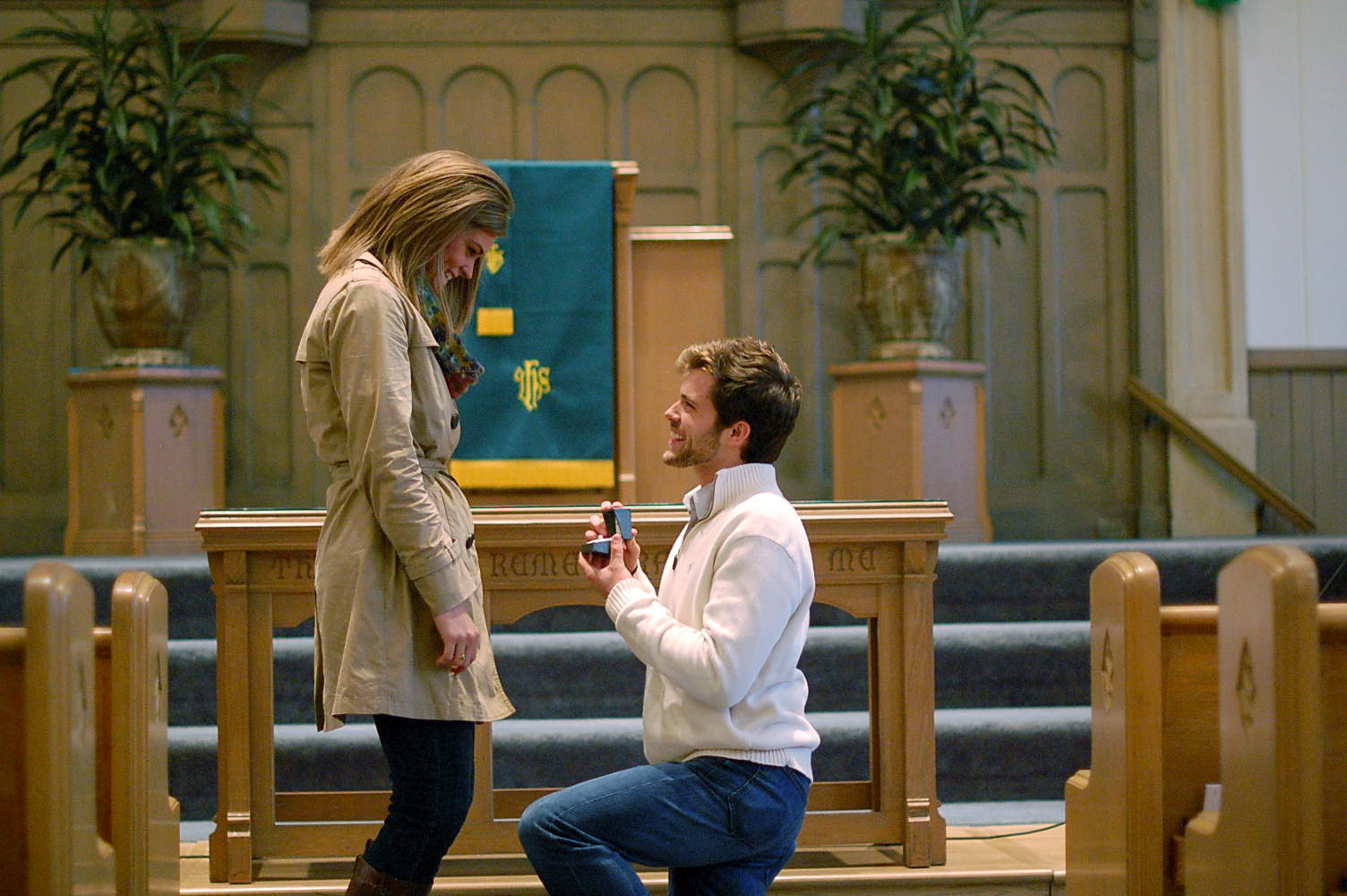 Big White Church Marriage Proposal (1)