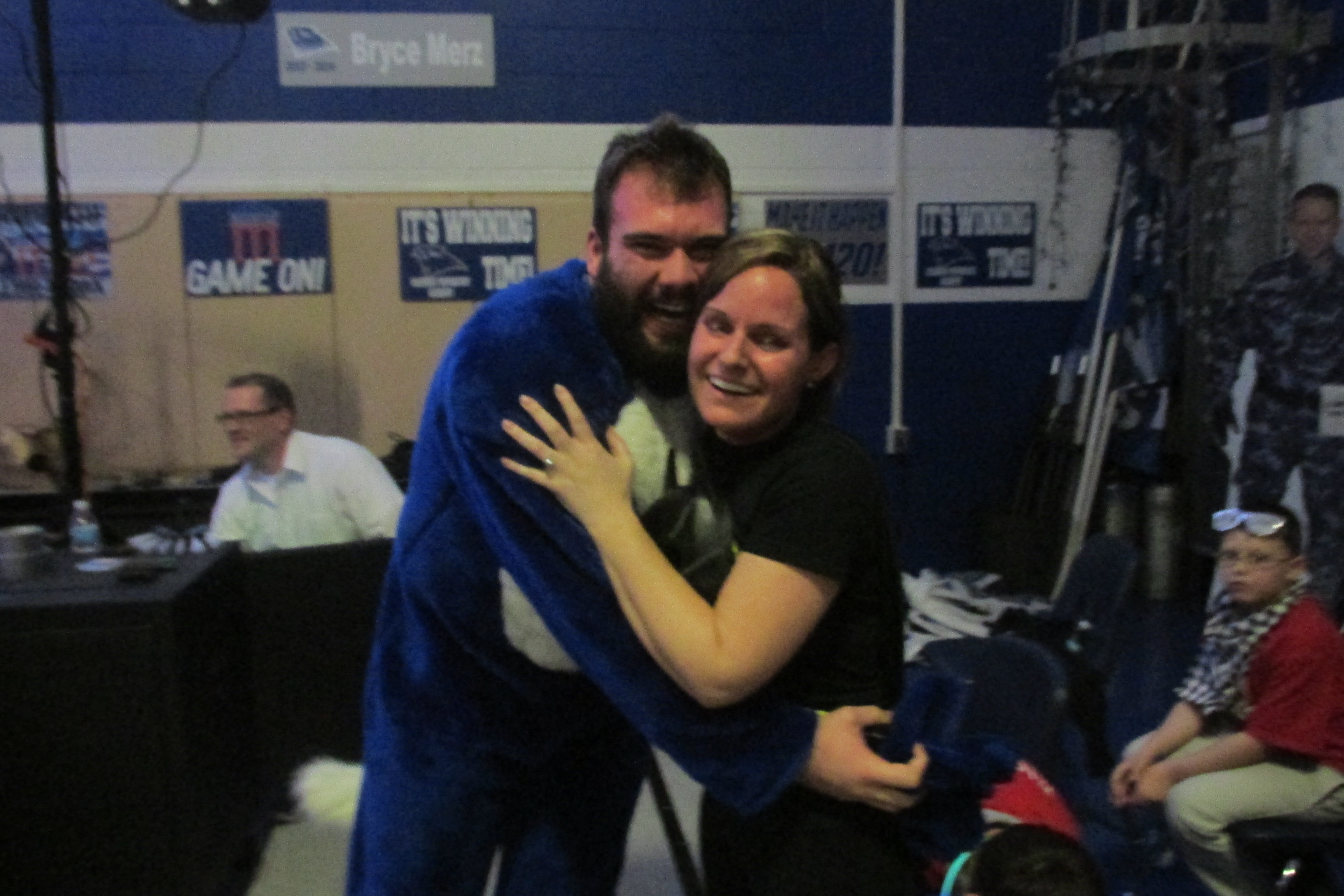Image 3 of Jen and Mike's Pep Rally Proposal