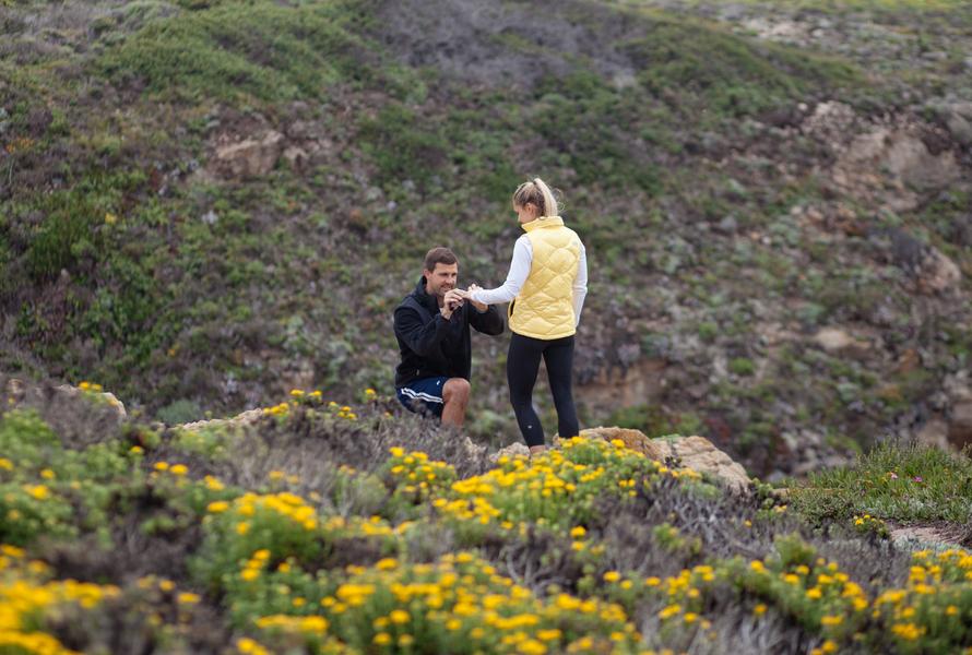 Marriage Proposal Big Sur California (33)