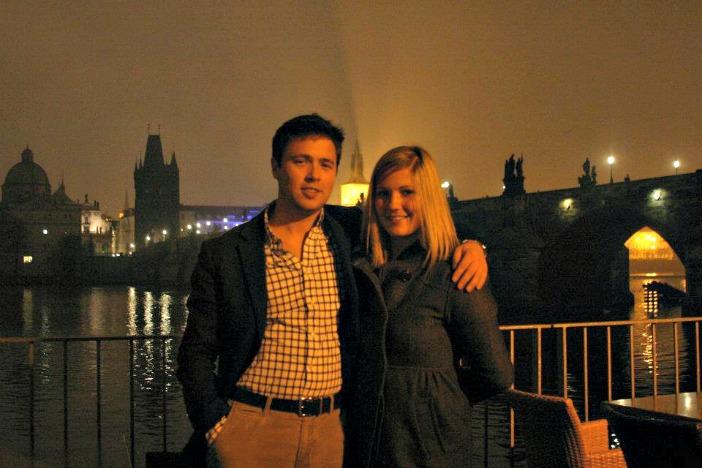 Image 9 of Elliot and Kaci's Surprise Proposal in Prague