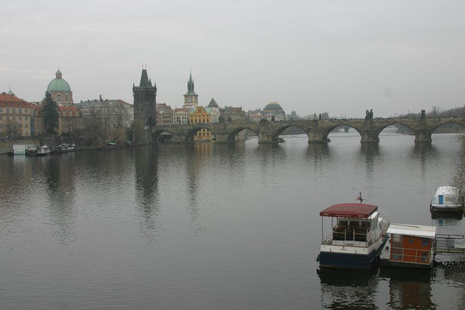 Image 4 of Elliot and Kaci's Surprise Proposal in Prague