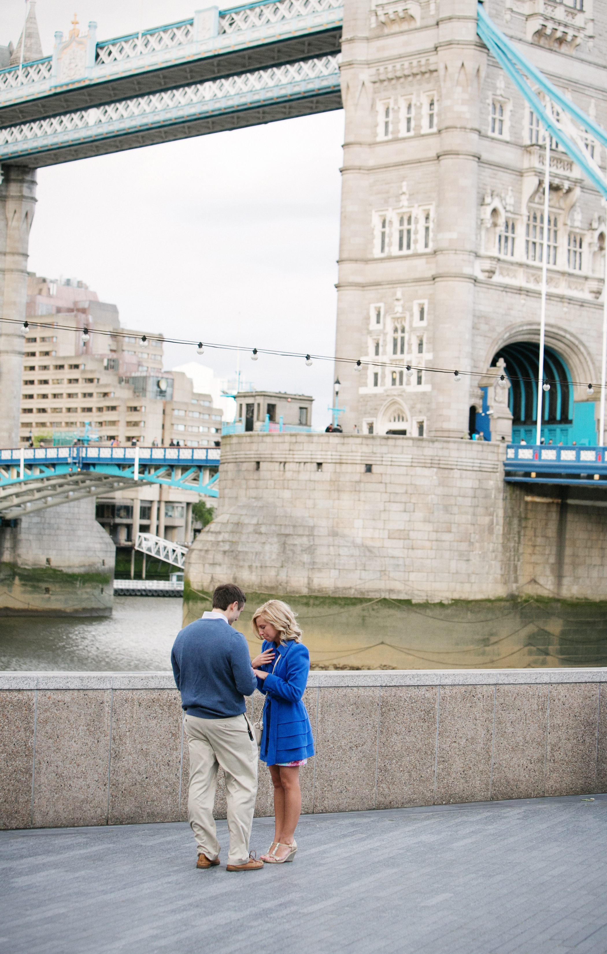 Image 11 of Kevin & Katie's Tower Bridge Proposal in London