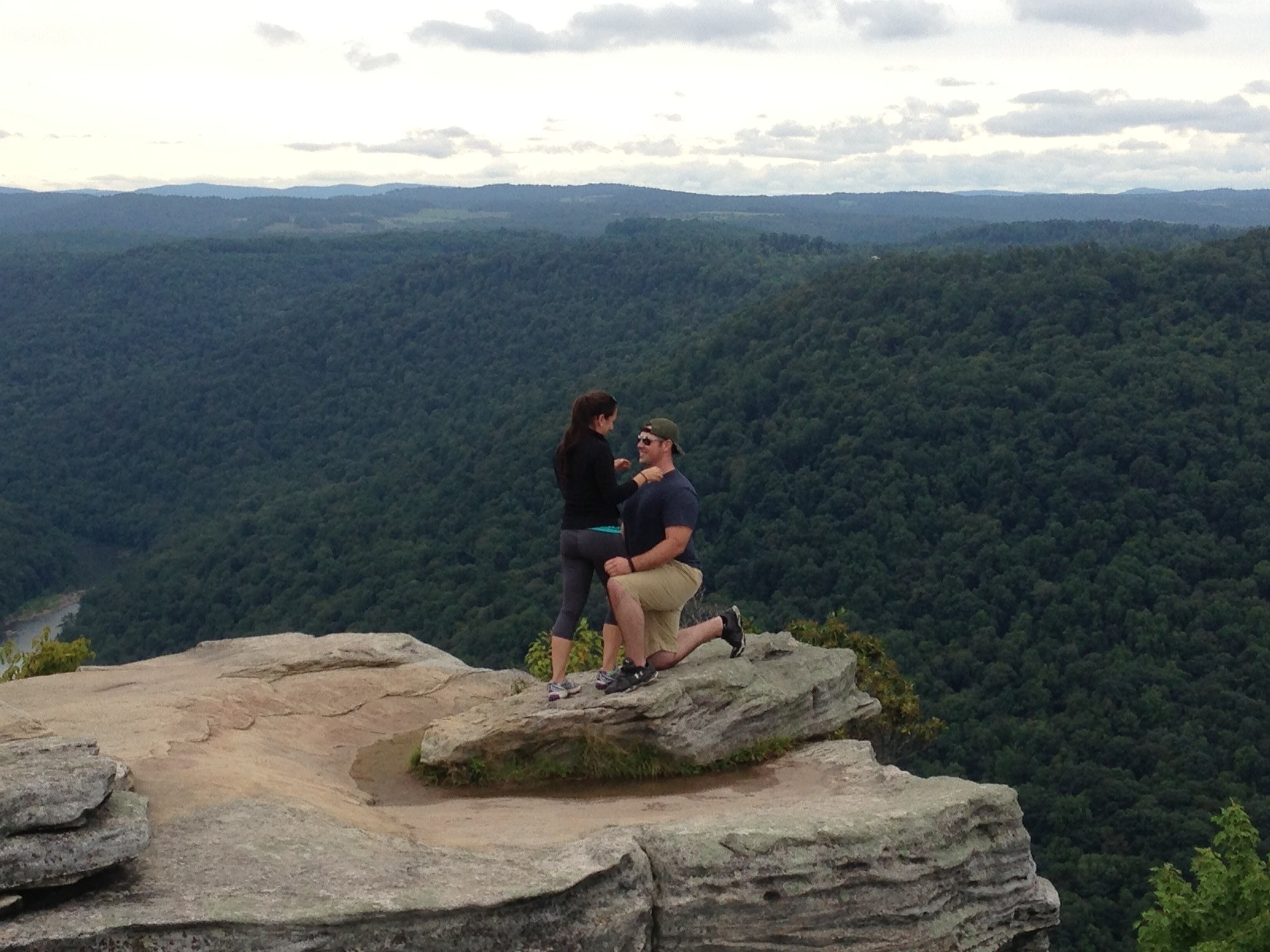 Image 5 of Patrick and Kara's West Virginia Mountain Proposal