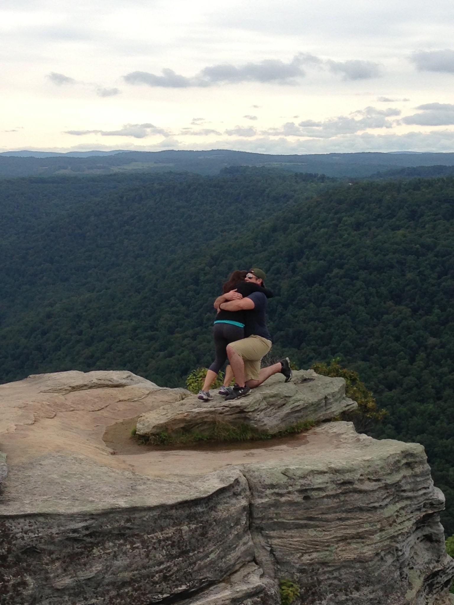 Image 2 of Patrick and Kara's West Virginia Mountain Proposal