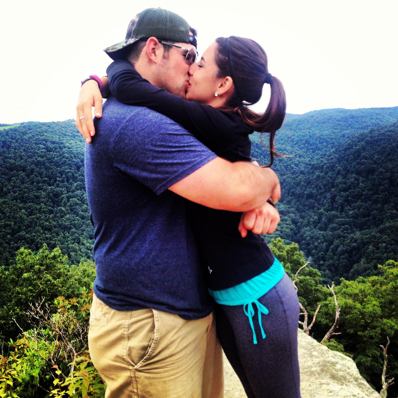 Image 1 of Patrick and Kara's West Virginia Mountain Proposal