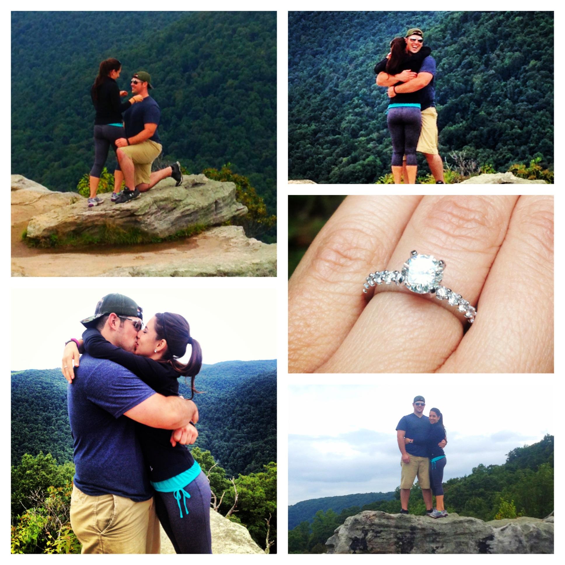 Image 4 of Patrick and Kara's West Virginia Mountain Proposal