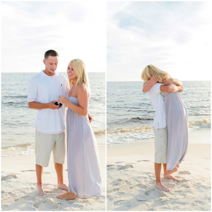 Wedding Proposal Ideas Beach: Beautiful Proposal With The Whole Family