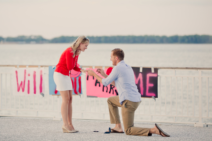 Image 8 of Alex and Faith's Pier Proposal