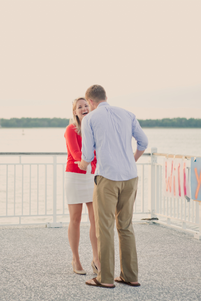 Image 5 of Alex and Faith's Pier Proposal