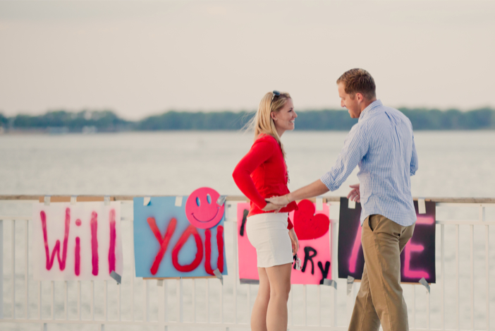 Image 4 of Alex and Faith's Pier Proposal
