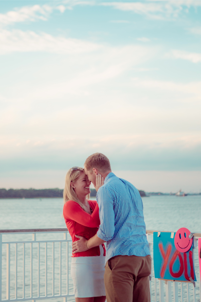 Image 12 of Alex and Faith's Pier Proposal
