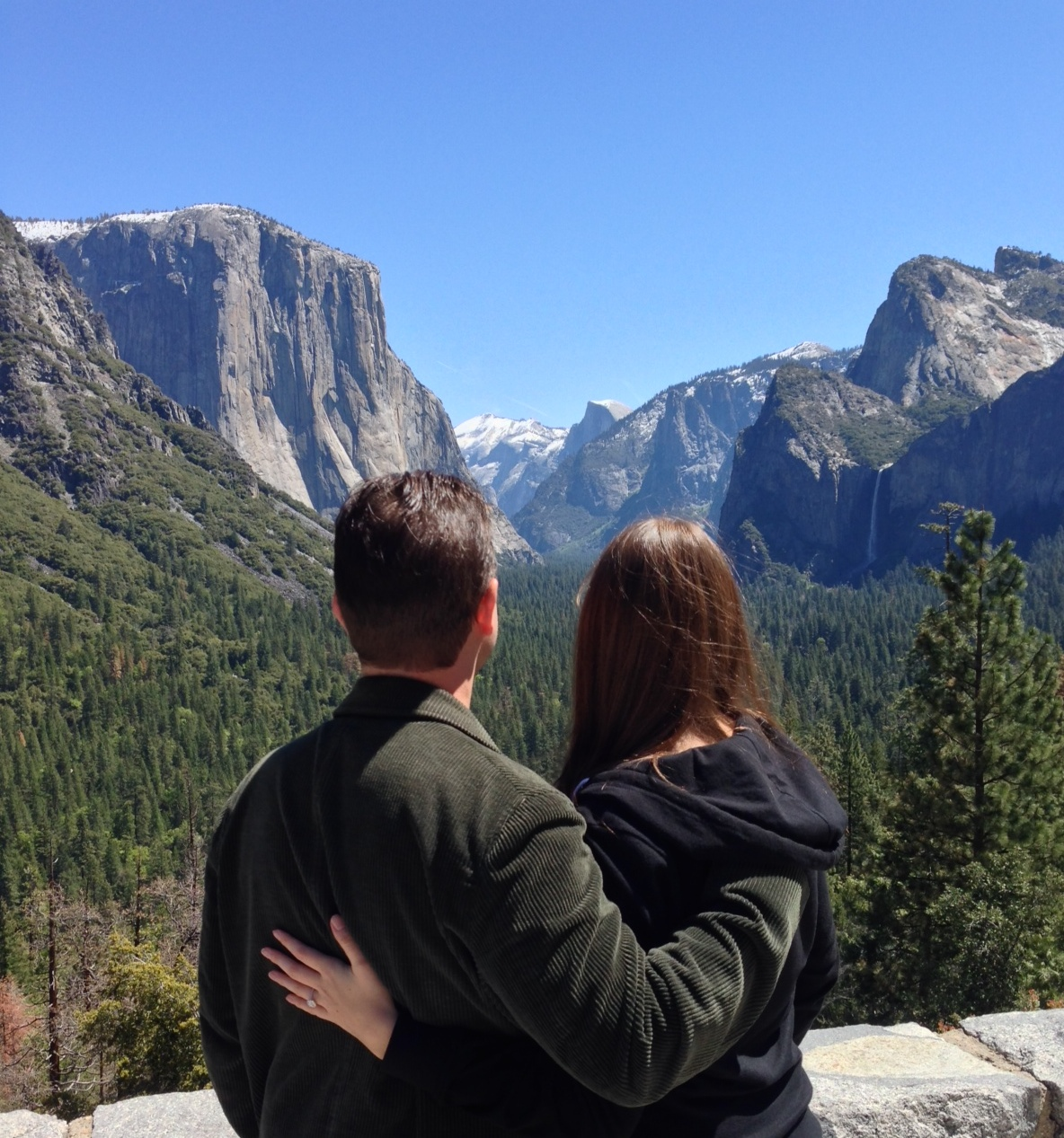 Image 1 of Danielle and Kyle | Yosemite National Park Proposal