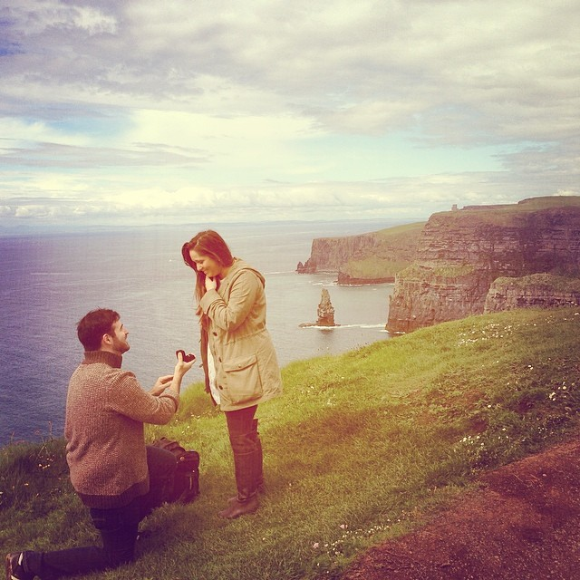 Marriage Proposal in Ireland
