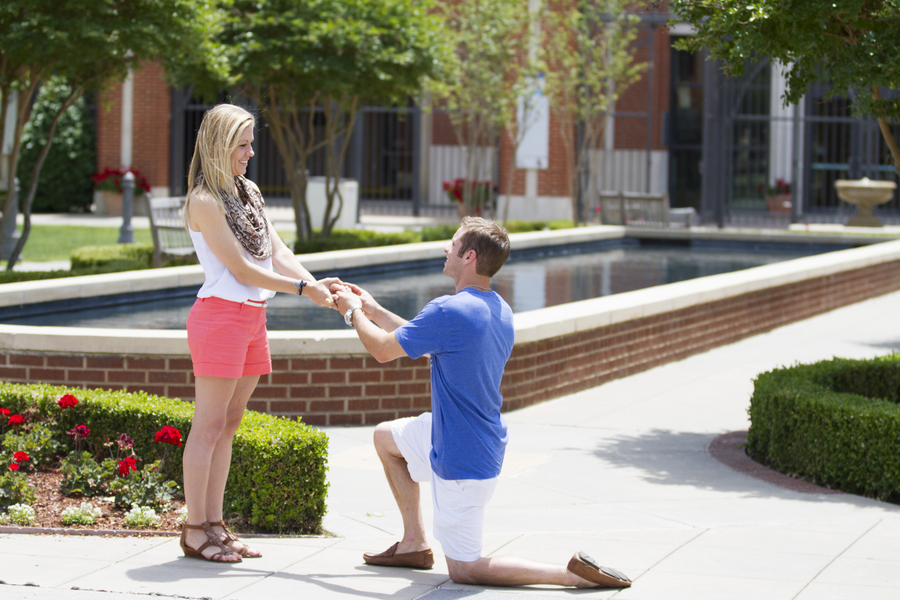 Corey and Allison University of Oklahoma proposal (11)
