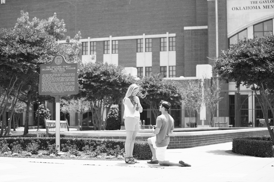 Corey and Allison University of Oklahoma proposal (5)