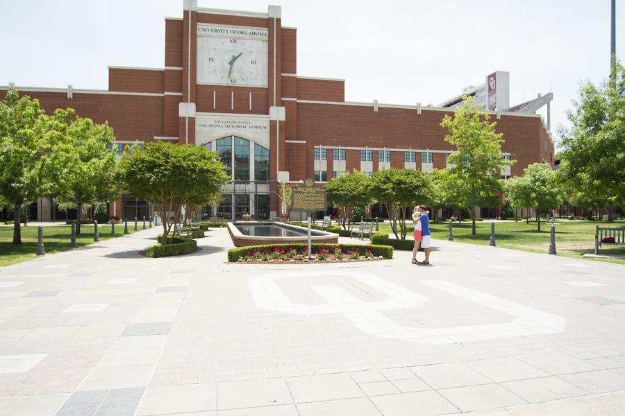 Corey and Allison University of Oklahoma proposal (7)