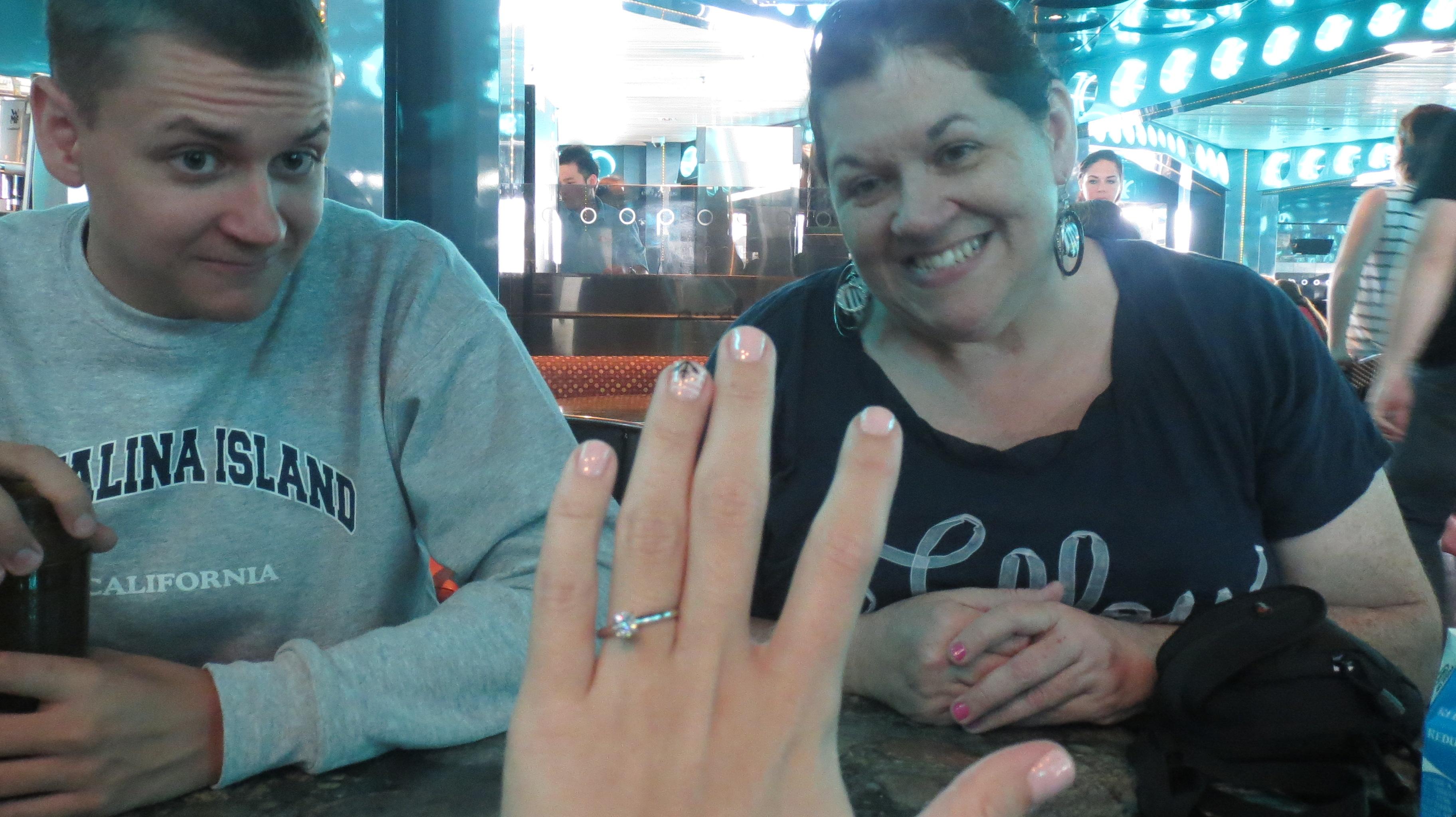 Gilbert and Christina Cruise Ship Marriage Proposal (14)