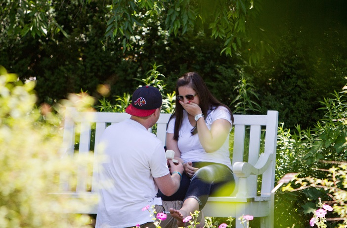 Image 1 of Jordan and Taylor's Surprise Birthday Proposal