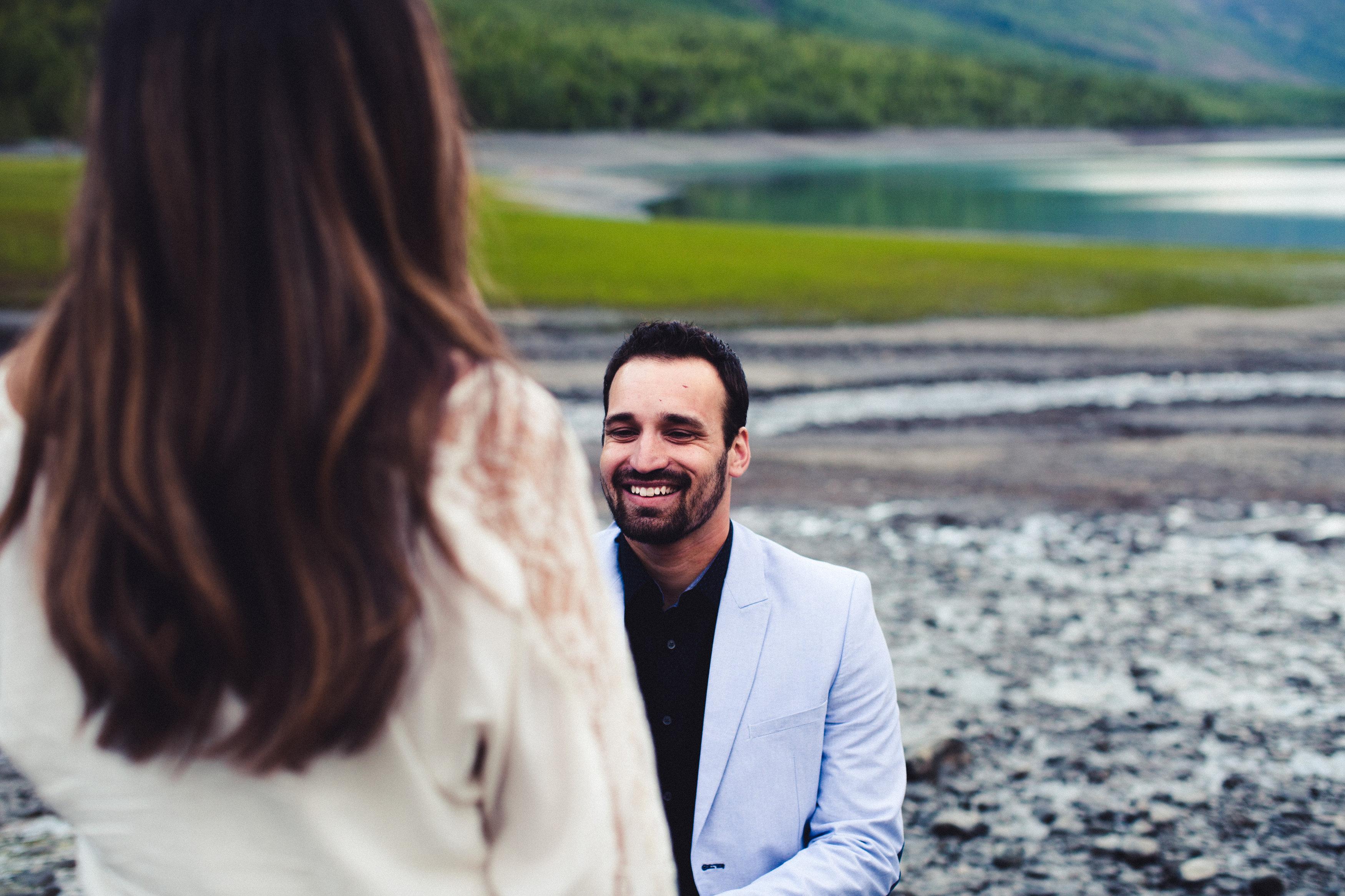 Image 3 of Rebeca and Josh's Beautiful Proposal in Alaska
