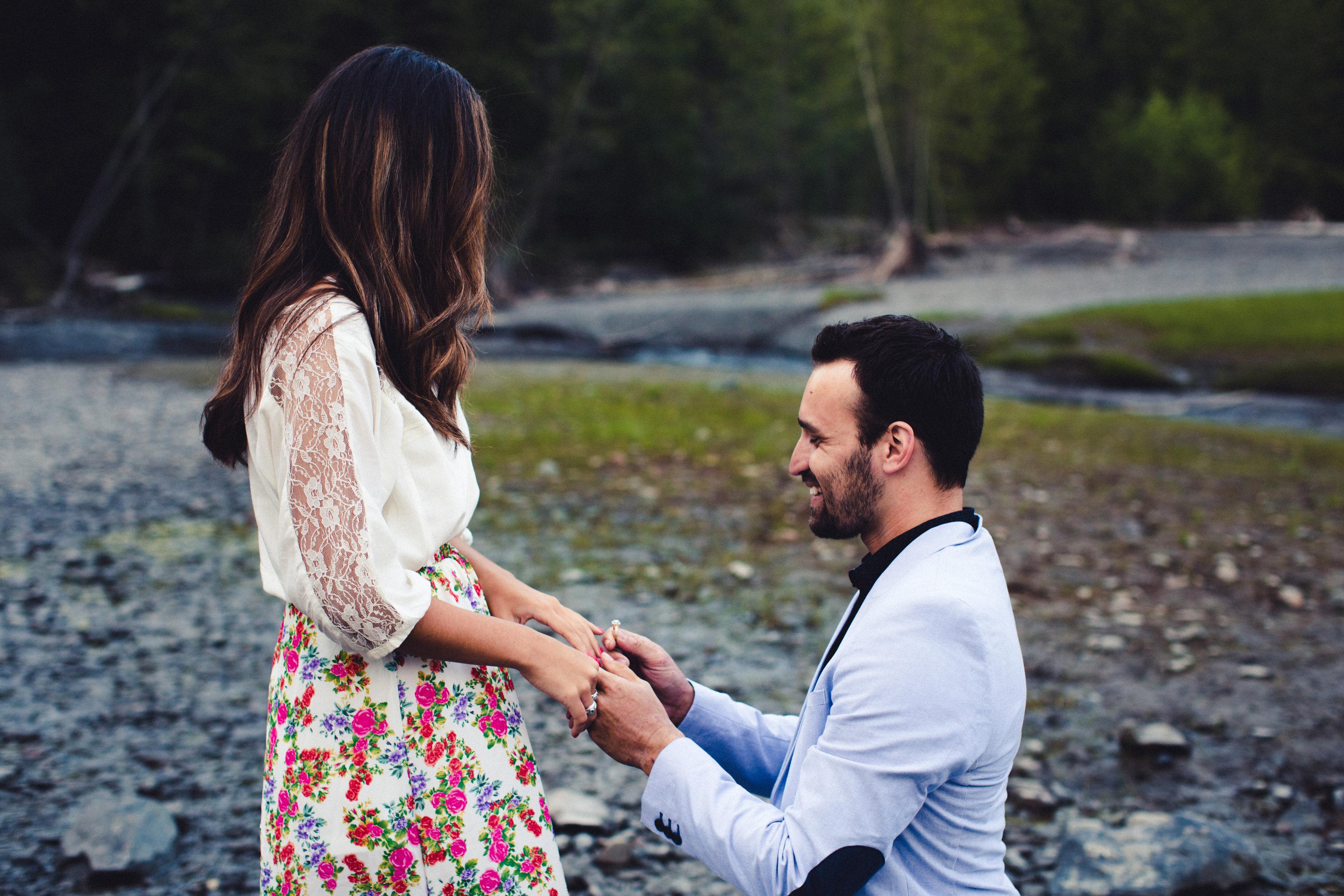 Image 4 of Rebeca and Josh's Beautiful Proposal in Alaska