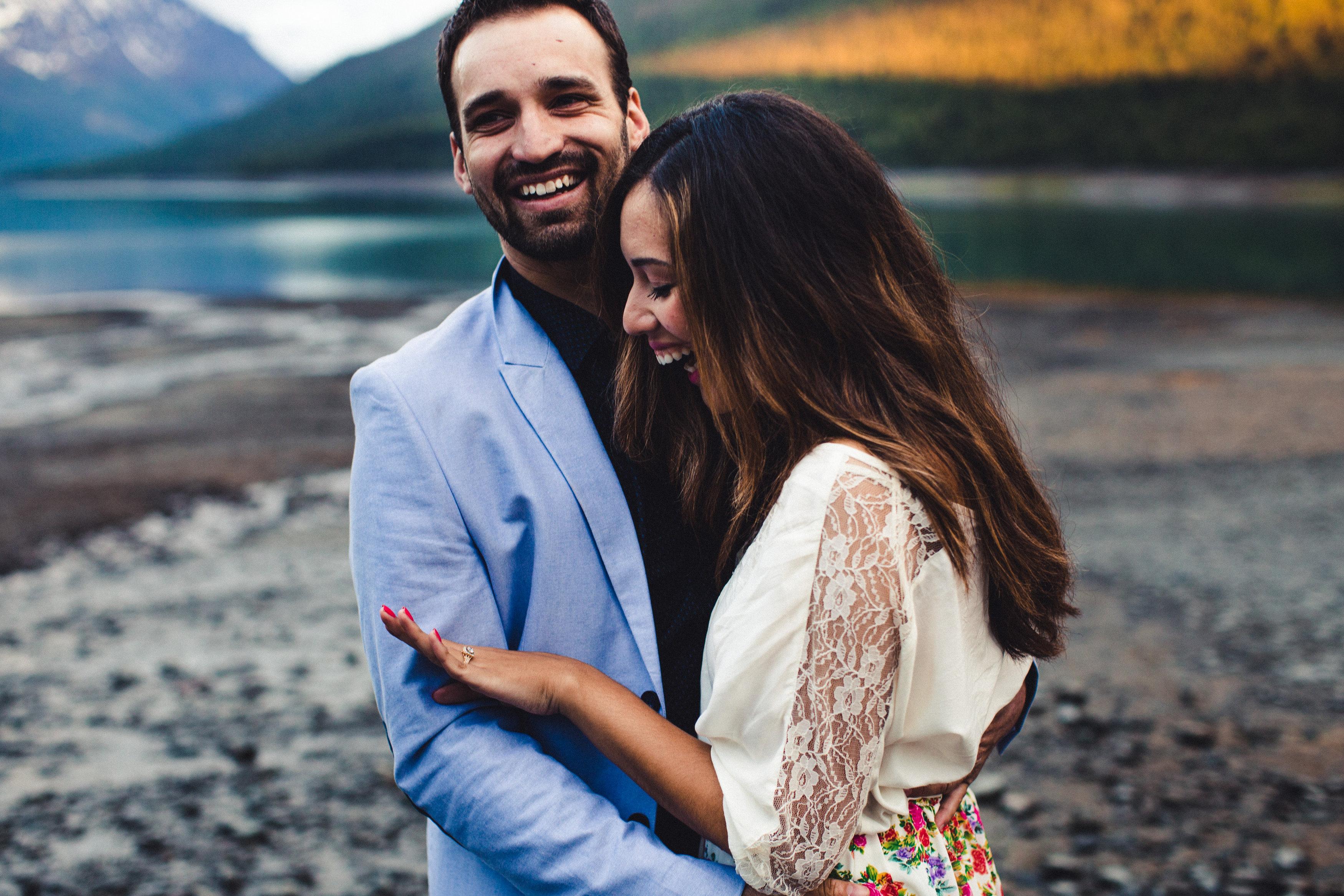 Image 1 of Rebeca and Josh's Beautiful Proposal in Alaska