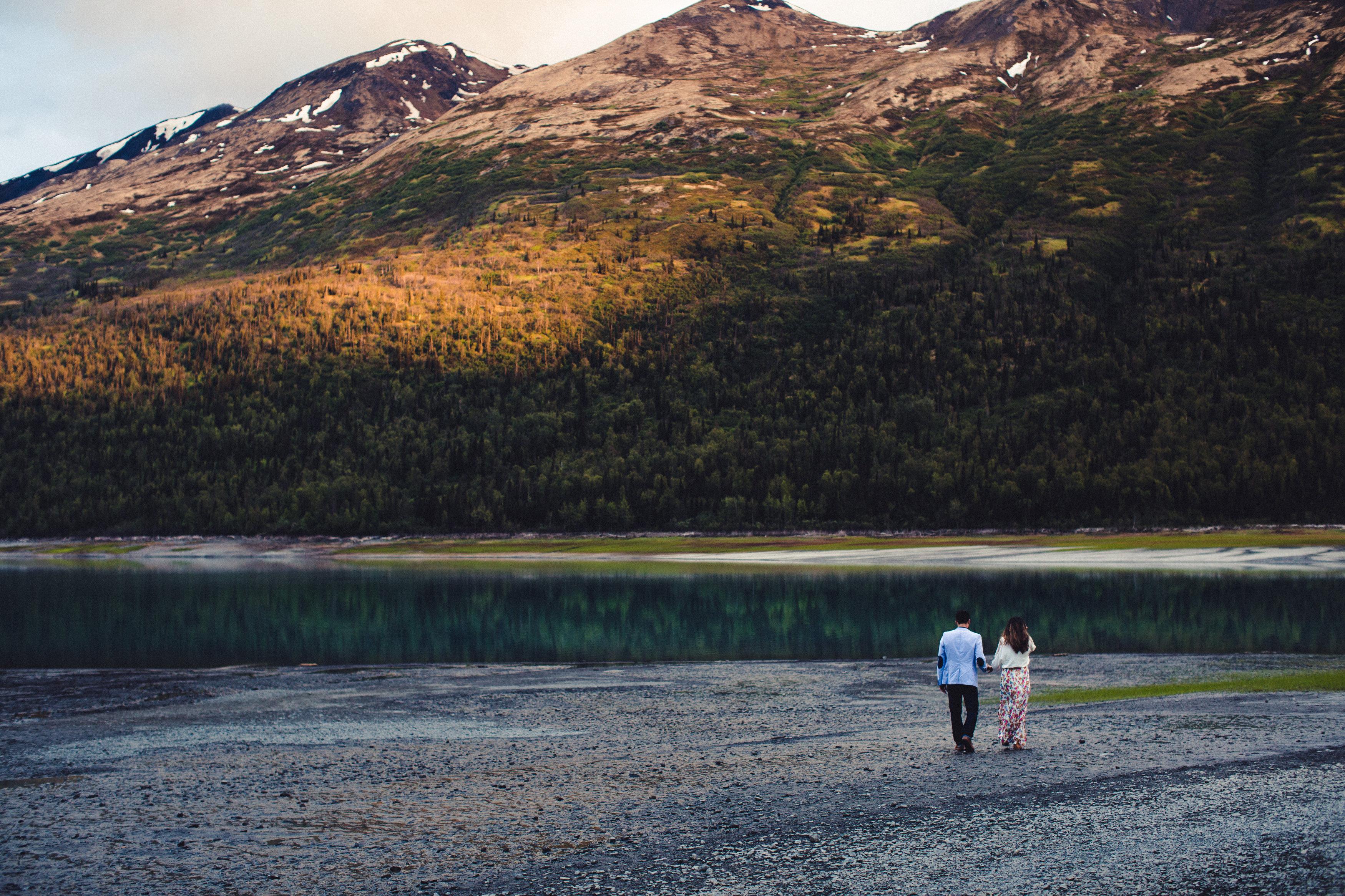 Image 9 of Rebeca and Josh's Beautiful Proposal in Alaska