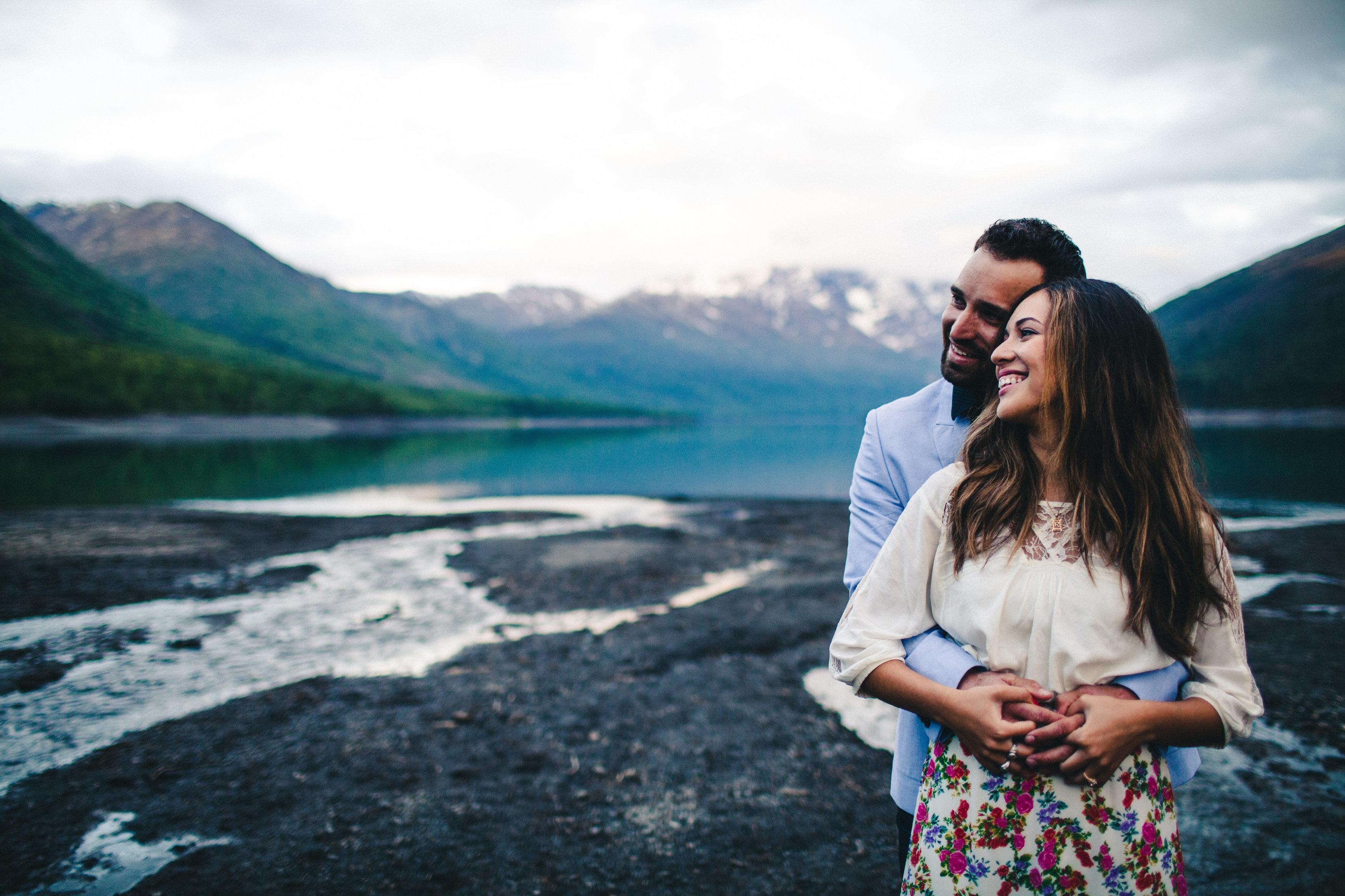 Image 10 of Rebeca and Josh's Beautiful Proposal in Alaska
