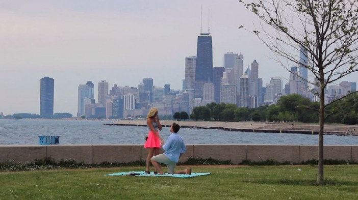 Image 5 of 10+ Awesome Chicago Marriage Proposal Ideas