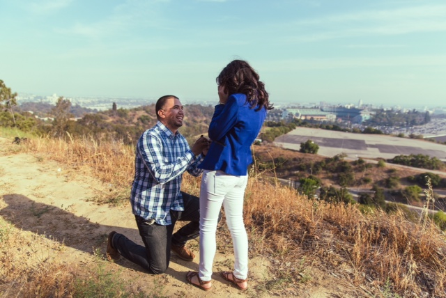 Marriage Proposal at Modelling Shoot (2)