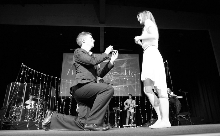 Marriage proposal at church (10)