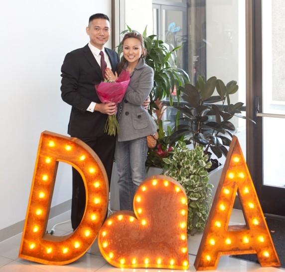 Image 1 of AnhDao and Doug's Epic Marriage Proposal