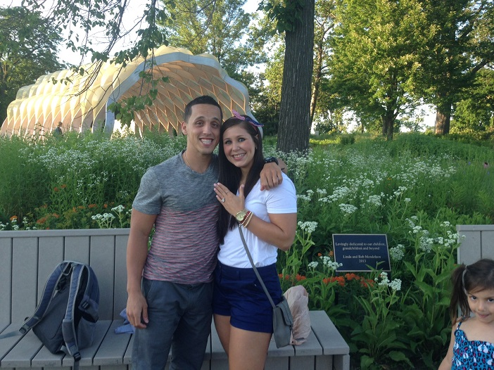 Sean and Dayami High School Sweethearts Fourth of July proposal (1)