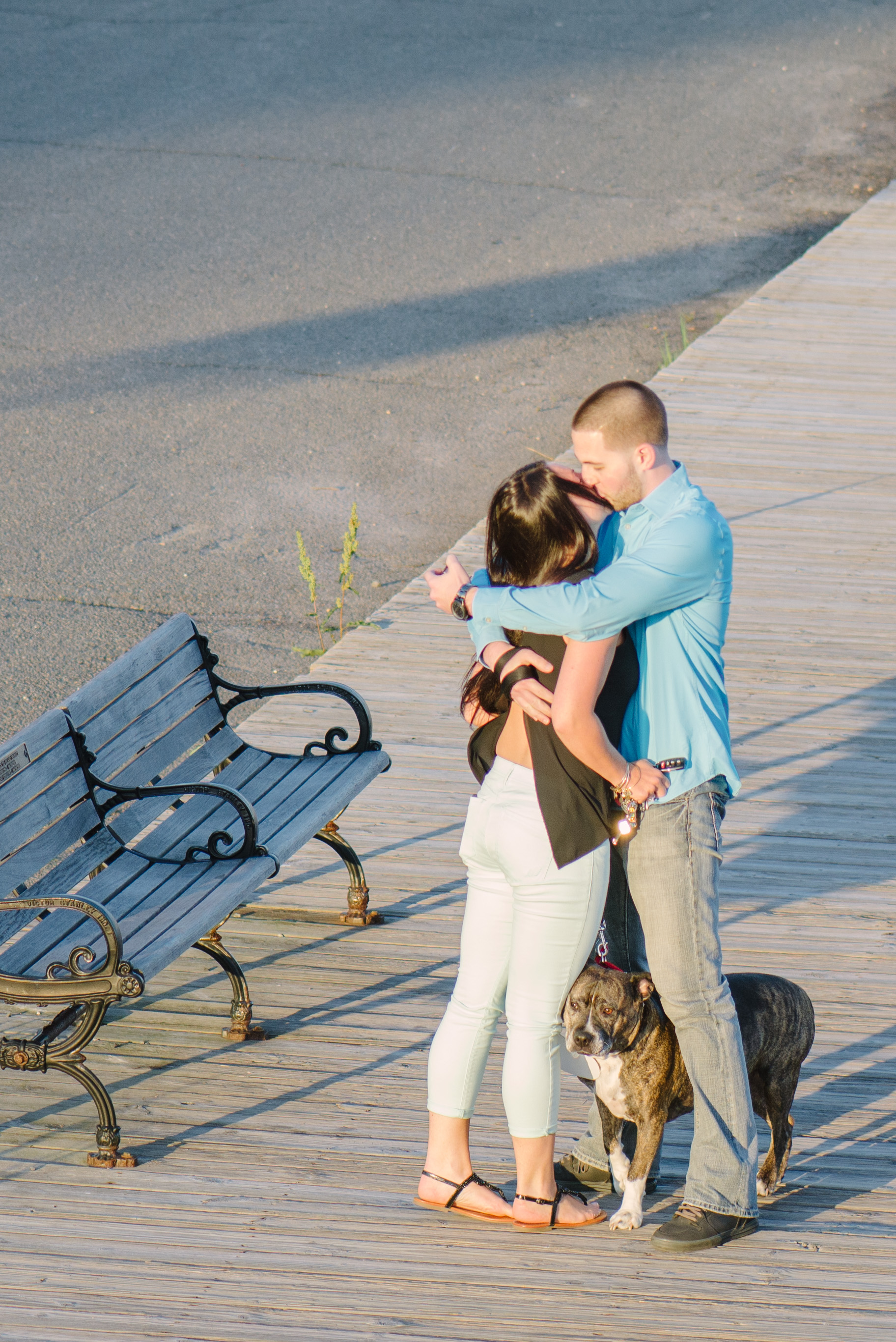 Image 6 of Dog Helps with Scavenger Hunt Proposal