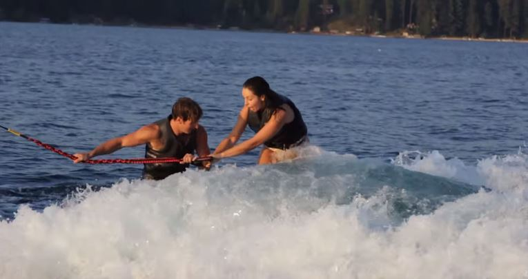 Image 5 of Brynn & Matt's Awesome Wakeboarding Proposal