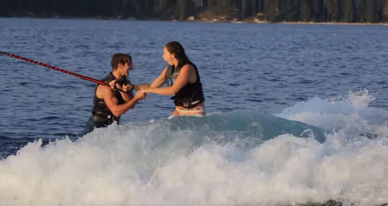 Image 6 of Brynn & Matt's Awesome Wakeboarding Proposal