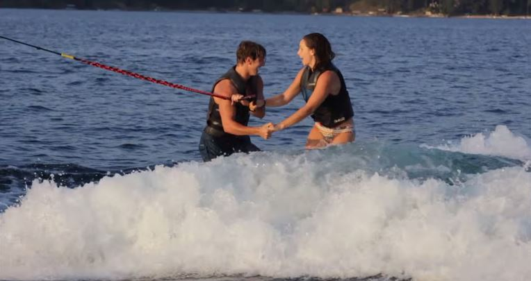 Image 7 of Brynn & Matt's Awesome Wakeboarding Proposal