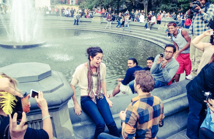 bryant park marriage proposal ideas in new york city