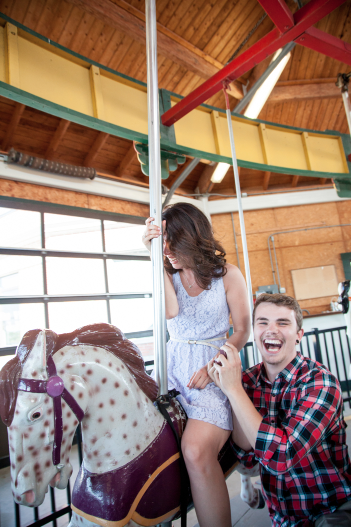 Image 5 of Rochelle and Dustin's Carousel Marriage Proposal