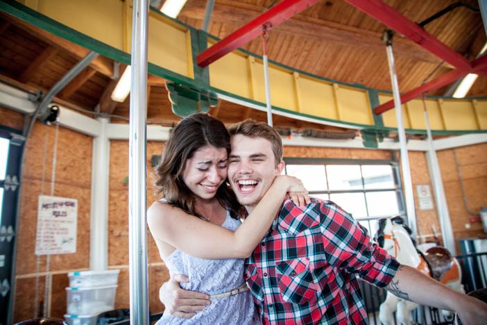 Carousel Marriage Proposal