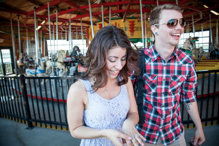 Image 8 of Rochelle and Dustin's Carousel Marriage Proposal