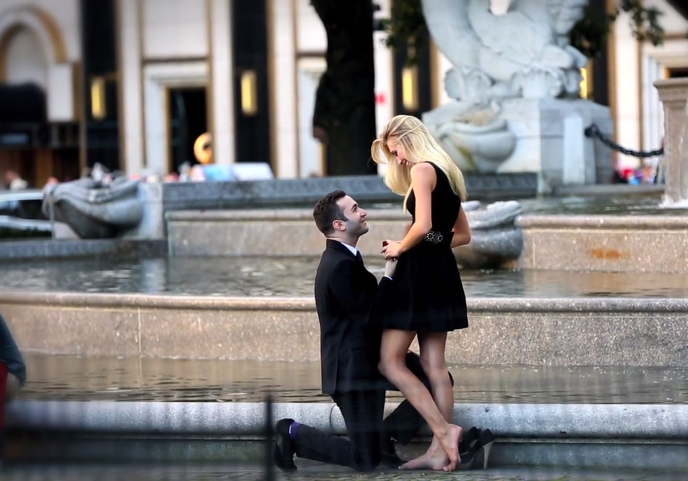 Image 2 of Brianna and Robert's Proposal at The Plaza Hotel