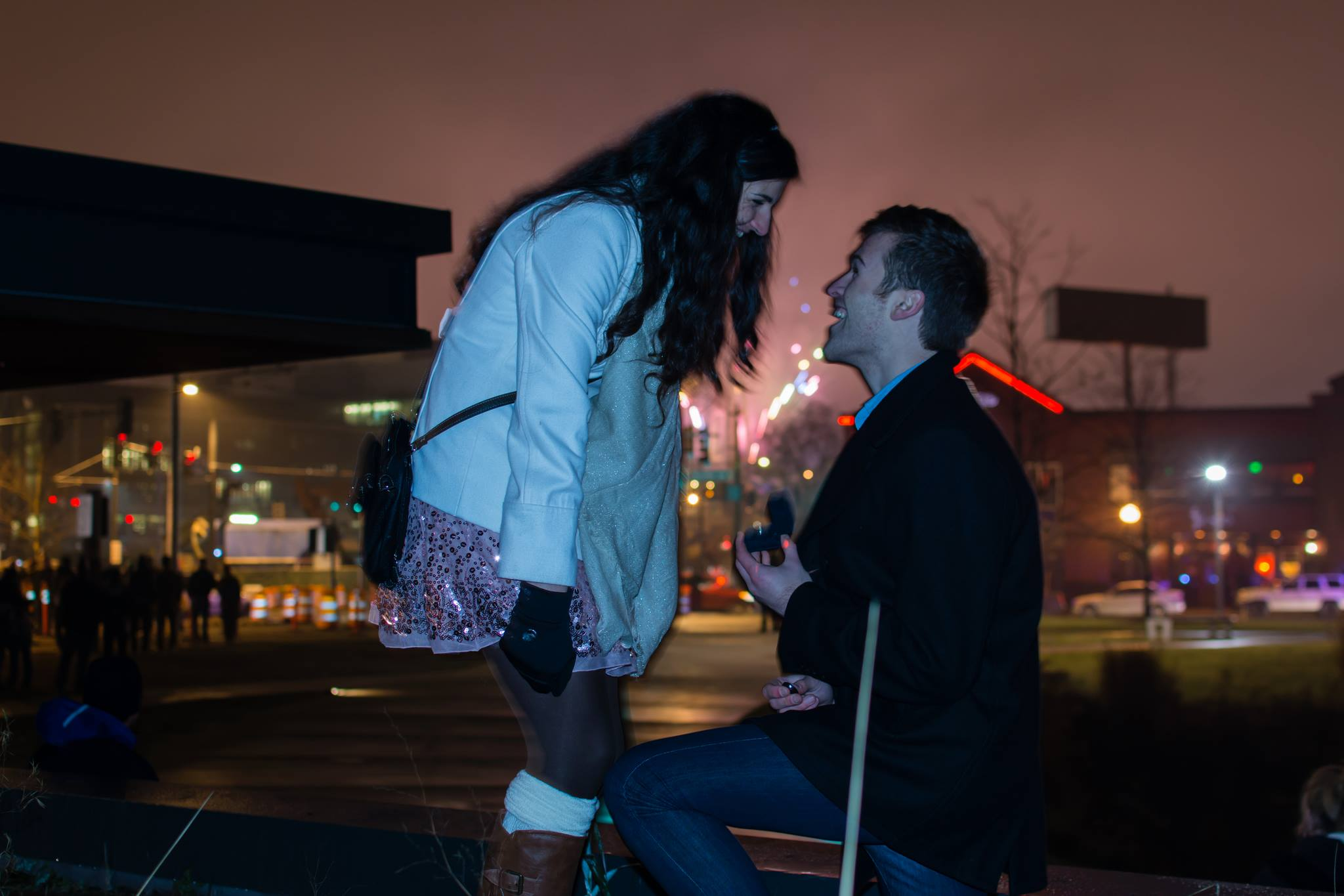 Marriage Proposal at the Space Needle