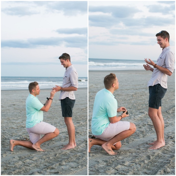 4th of July Beach Marriage Proposal (2)