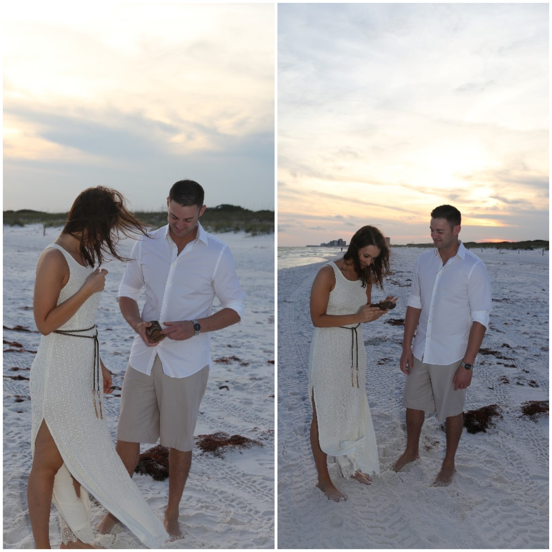 Beautiful Florida Beach Marriage Proposal (2)