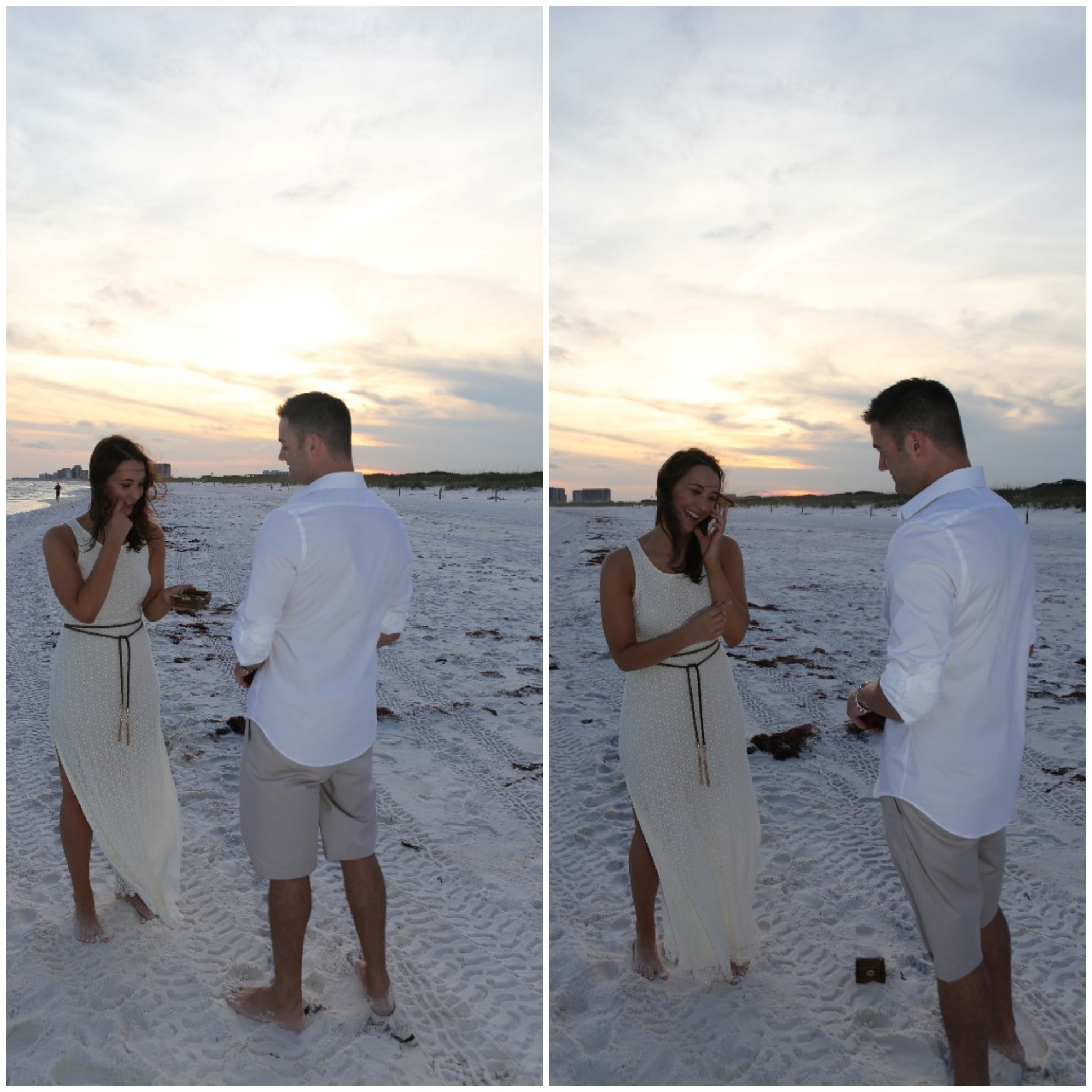 Beautiful Florida Beach Marriage Proposal (3)