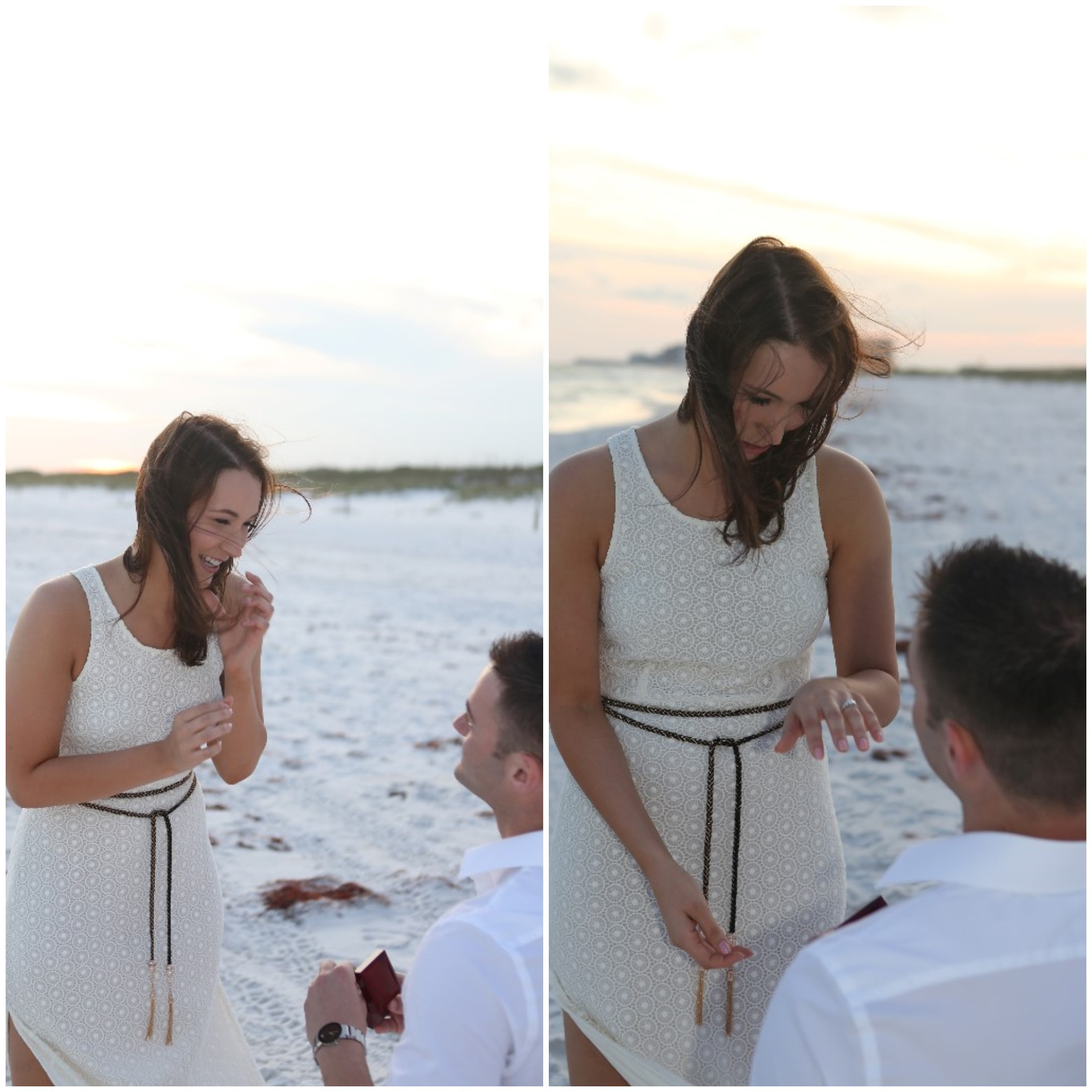 Beautiful Florida Beach Marriage Proposal (4)