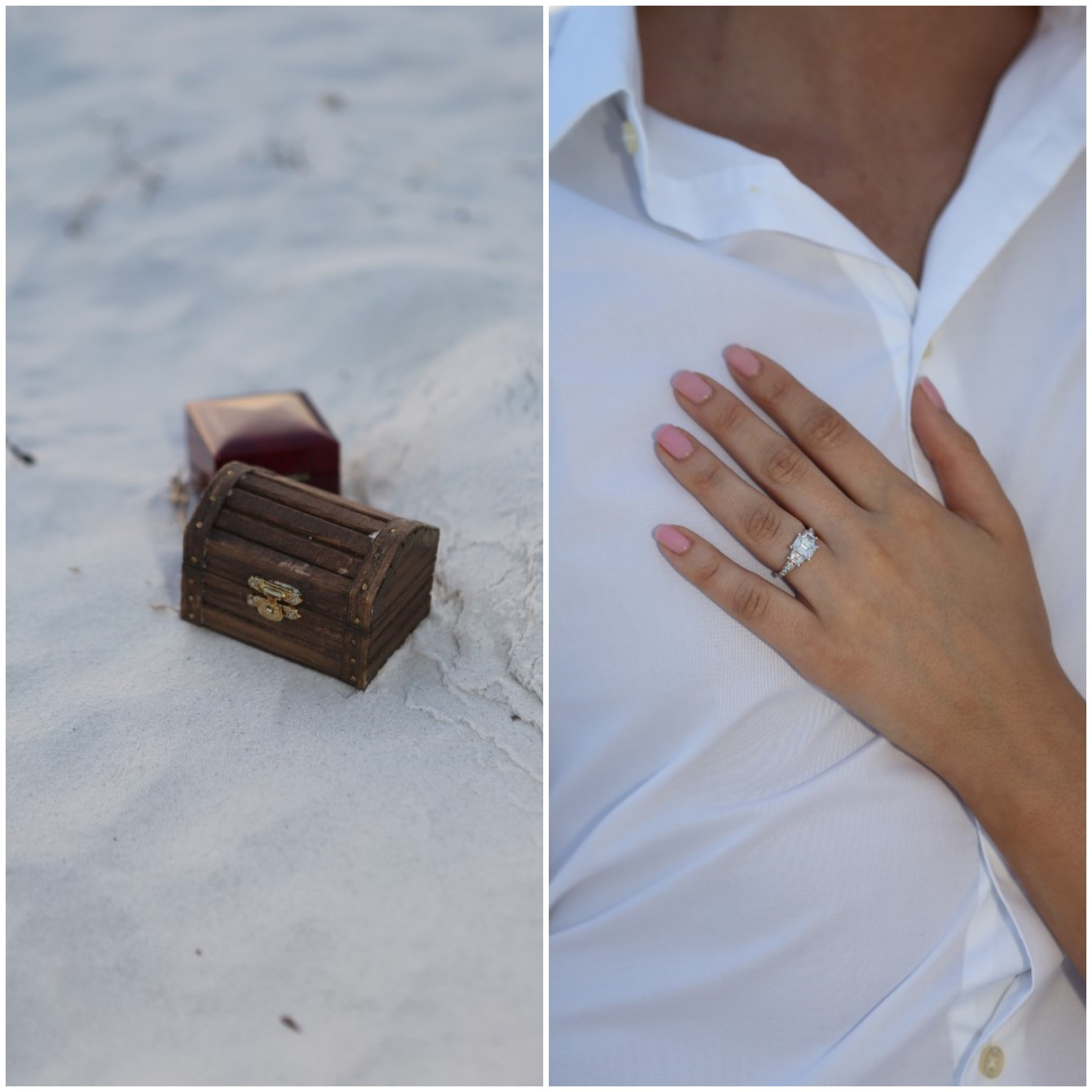 Beautiful Florida Beach Marriage Proposal (6)