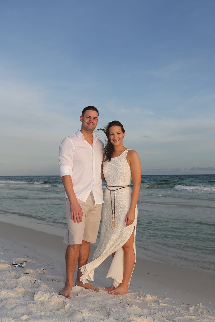 Beautiful Florida Beach Marriage Proposal (7)