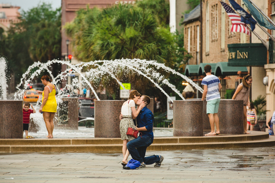 Couple recreates first date for marriage proposal (2)